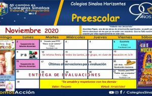 Noviembre 2020 - PREESCOLAR HTES.