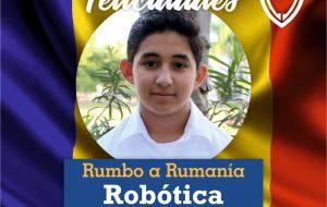 ROBOTICA - RUMBO A RUMANIA